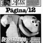 """Artículo sobre HS en el diario """"Página 12"""""""