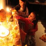 Altar de Muertos y Halloween