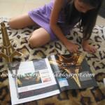Puzzle 3D de la torre Eiffel: disparador de aprendizajes