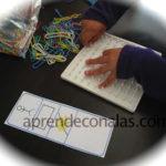 Lógica y geometría con material concreto